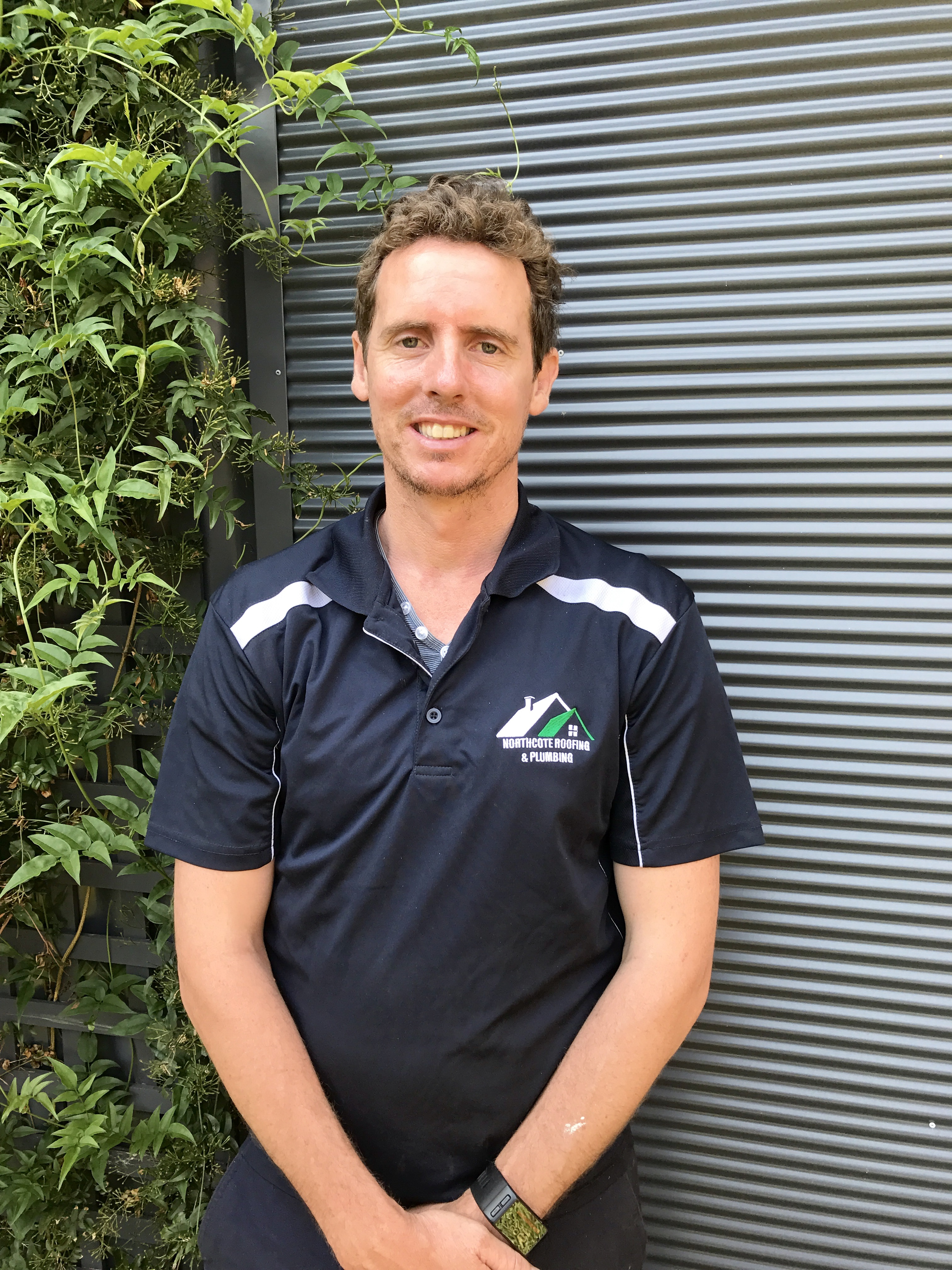 Daniel Flanagan Owner and operator of Surf Coast Roof Plumbing, Geelong