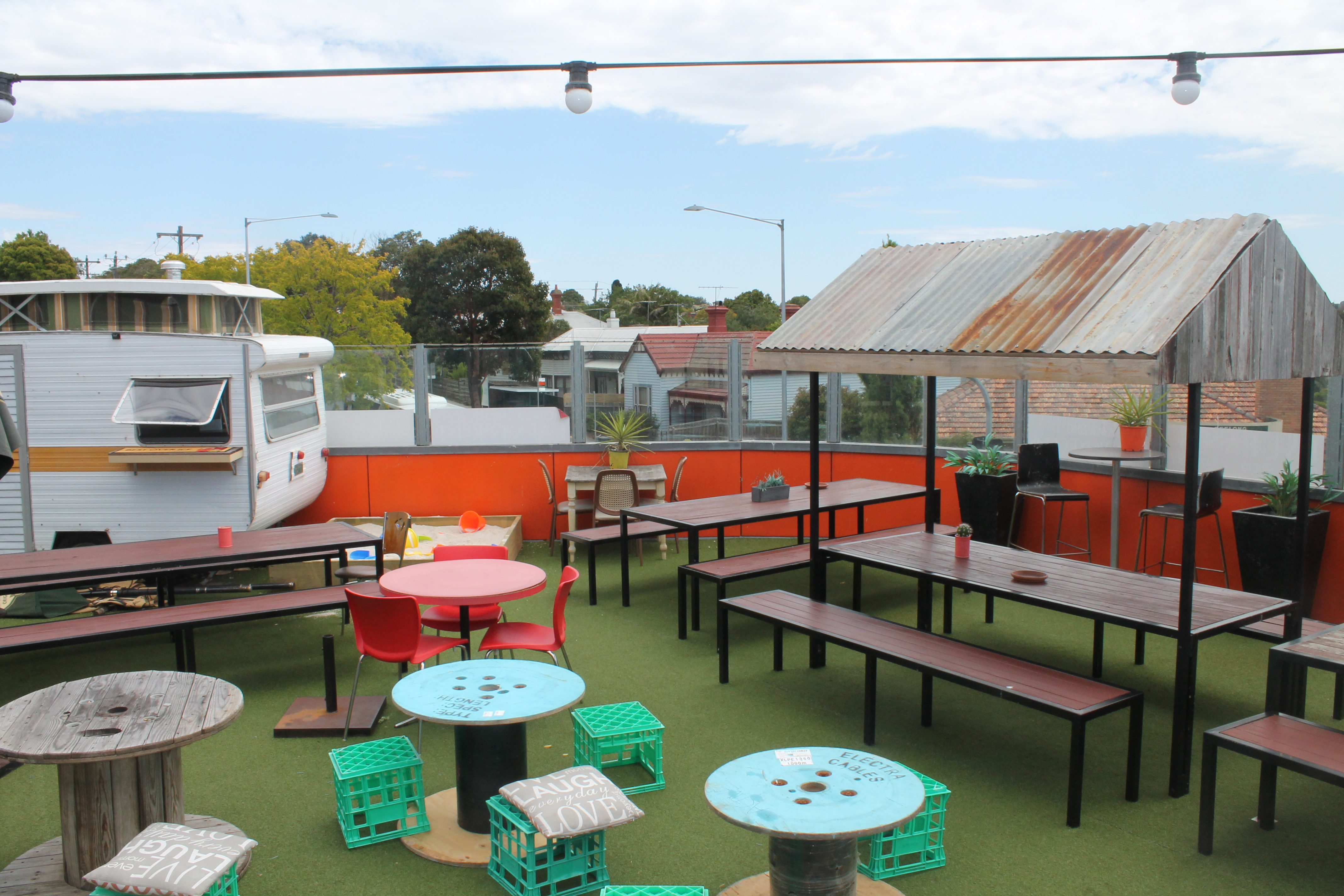 The Belmont Hotel Roof Top Bar